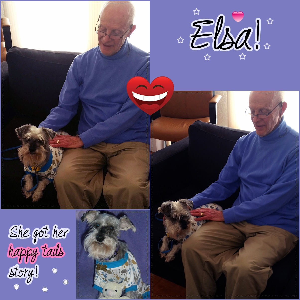 Elsa was adopted!