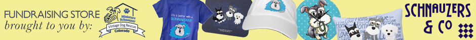 Vintage Dog Rescue's Schnauzer Fundraising Store