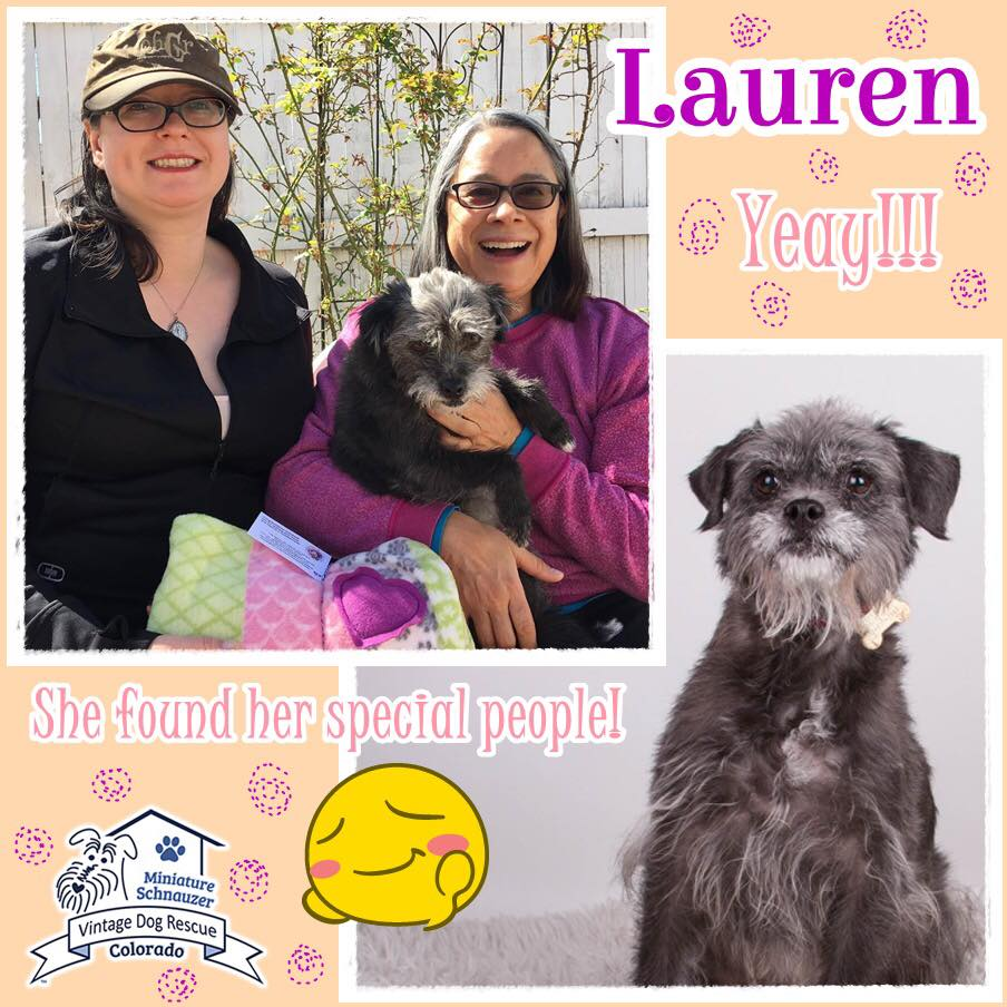 Lauren was adopted!