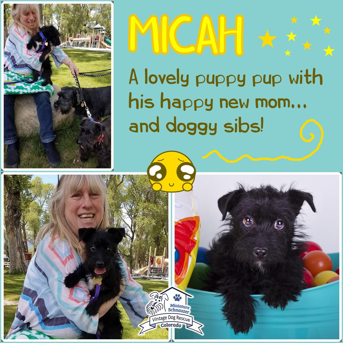 Micah was adopted!